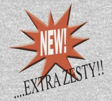 New... extra zesty by stuwdamdorp