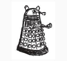 Dalek Sketch Kids Clothes