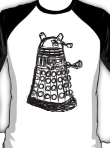 Dalek Sketch T-Shirt