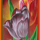 Thinking Of You - Two Tulips by taiche
