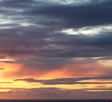 Westward Ho! sunset 444 by Gea Austen