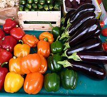 Marche vegetables, Edgar Quinet by cschurch