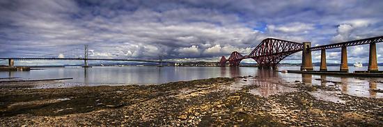 The Bridges Panorama by Tom Gomez