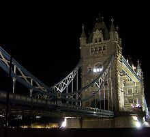 Tower Bridge at Night by James Kowacz