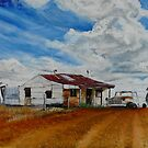 LIGHTNING RIDGE PAINTING  by Wayne Dowsent