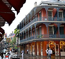 Meet Me In New Orleans In The Pouring Down Rain by Ainsley Kellar Creations