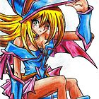 Dark magician girl by Chloeosity