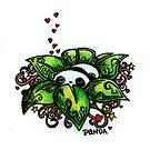 Panda! (in colour) by Chloeosity