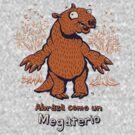 Abraza como un Megaterio - megafauna camiseta by Richard Morden