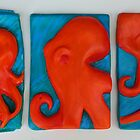 Octopus Triptych by SavannahStone