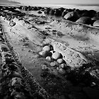 Bowling Ball Beach #3 by Ed Lark