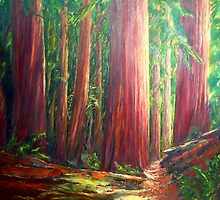 OLD GROWTH  I by Doria Fochi