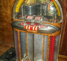 Antique Jukebox by Jane Neill-Hancock