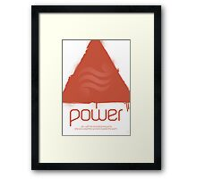 Forces - Power Framed Print