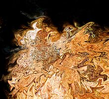 Molten Rock & Leaves in Wester Ross by Mike Honour
