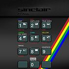 Sinclair ZX Spectrum by Alisdair Binning
