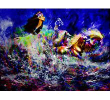 The Queen in Southern Sea  ~ Legendary Spirit Photographic Print