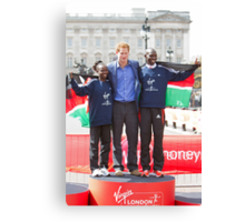 The Gold Medallist winners with Prince Harry Canvas Print