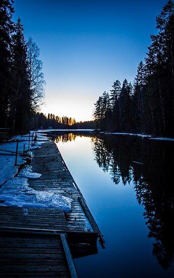 Blueness by Matti Ollikainen