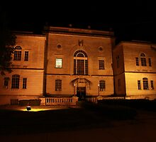 Lawrence County Courthouse After Dark South Side by ken2086