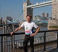 James Cracknell Olympic Gold Medallist by Keith Larby