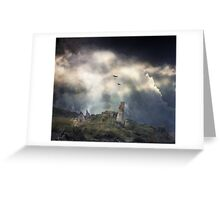 An Ancient History of Flight. Greeting Card