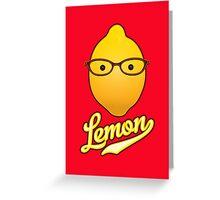 Good God, Lemon! Greeting Card