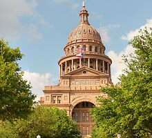 Texas State Capitol Building in Austin by SJBroadmeadow