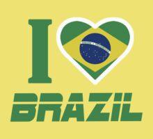 I LOVE BRAZIL by mcdba