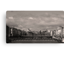Bridges of Dublin Canvas Print