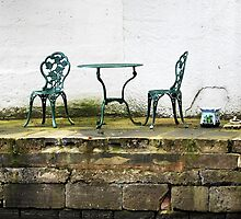 Empty Table And Chairs by Stan Owen