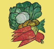 Lettuce, Carrots & Potatoes Kids Clothes