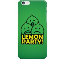 Lemon Party! iPhone Case/Skin