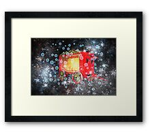 When the Circus Comes to Town Framed Print