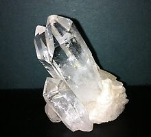 Quartz Crystal by Barry Norton