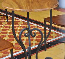 Patio furniture  in Mazatlan, Mexico by Lisajmorris