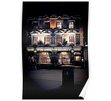 Sherlock Holmes pub Poster