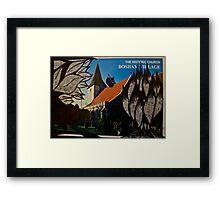 the squirrel of bosham village Framed Print