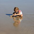 Reflection of Sand & Water Play by aussiebushstick