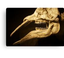 Drumheller Dinosaur Canvas Print