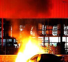 The Killer Flame Job by Daniel Sawyer