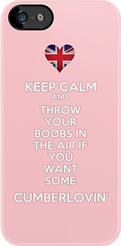 Keep Calm and Throw Your Boobs In The Air If . . . by SallySparrowFTW