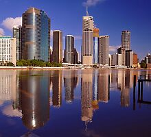 Brisbane City & River. Queensland, Australia. (2) by Ralph de Zilva