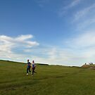 Dunstanburgh joggers  by StephenRB