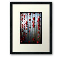Remembrance  Framed Print