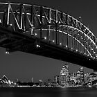 Sydney Harbour Bridge, Australia by Justine Chesterman