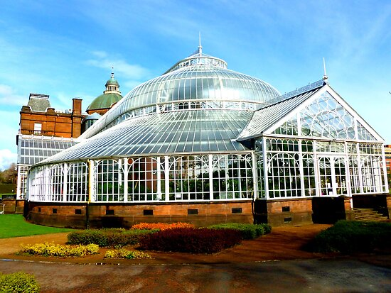 Winter Garden, Glasgow Green by ©The Creative  Minds