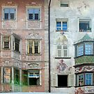 Old houses in Bolzano - Italy by Arie Koene