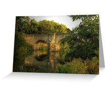 Teston Bridge Greeting Card