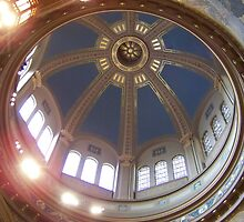Ceiling of St. Matthew's Cathedral-Washington DC by anneharpen